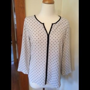 Split neck blouse (new with tags)